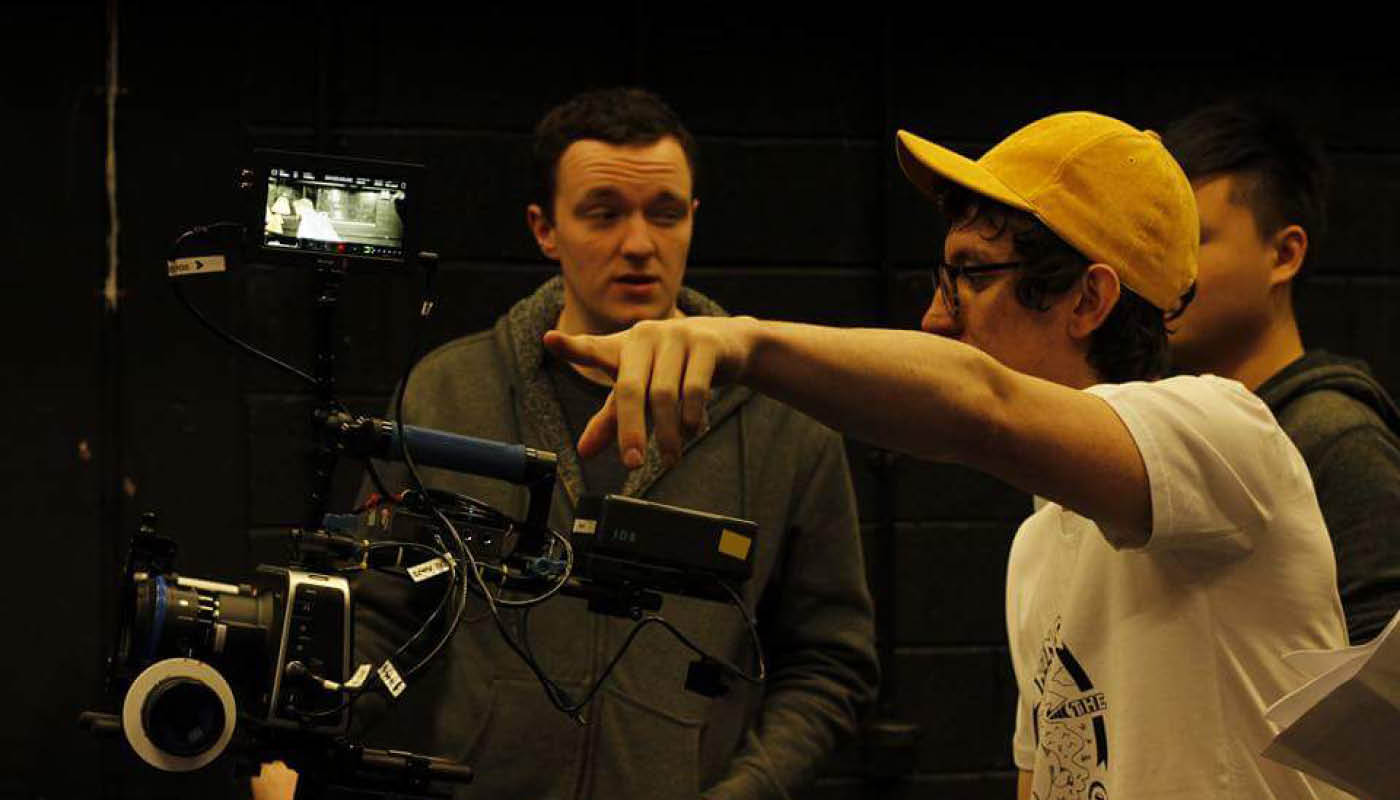 Students from the BA Hons in Film and Television Production at DkIT